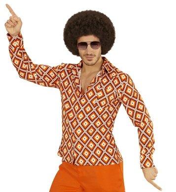 NEU Herren-Kostüm Hemd, Rhombus, Gr. (Kostüme Achtziger Jahre)
