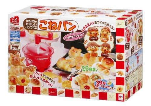 Fun simple bread making bread dough-portrait set ~ (japan import)
