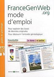 FranceGenWeb mode d'emploi