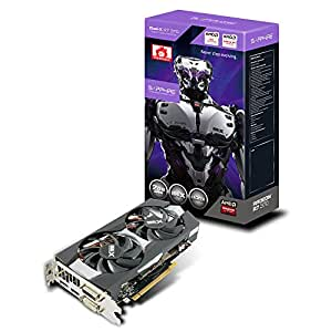 Sapphire R7 370 2G GDDR5 PCI-E Dual-X OC Carte graphique AMD Radeon 985 MHz 2048 Mo PCI-Express