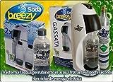 Trinkwassersprudler Soda Wasser Breezy Kit Starter Komplett–Weiß