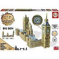 Educa 16971.0 - 3D Monument Puzzle Big Ben and Parliament