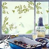 Fensterfolien Glasaufkleber Yilin Fensteraufkleber Glasaufkleber Milchglas Film Schiebetür Balkon Transparent Undurchsichtige Badezimmer Glasfenster Zuckerguss Elektrostatische Breite 60 Cm Hohe 90 Cm, Matte Statische Breite 45 Cm Hohe 60 Cm