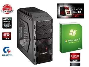 CyberTec® Gaming PC - Brand Neuer PowerPC AMD AM3+ 990FX - (AMD Bulldozer 6-Core FX-6100 (6x 3.30 GHz)) CPU Kühler super leise Arctic Alpine 64 Pro, Gigabyte GA-990FXA-UD3, 8GB DDR3, Ati Radeon HD 6850 1 GB, 1 TB HDD SATAIII 6GB/s, SSD 120 GB Corsair Force 3 SATTA III, 24x DVD±RW Brenner mit Lightscribe, 10x Bluray Brenner, Xilence 580W sehr leise, Xilence Black Hornet mit hot swap, inkl.Win7 HP 64 bit