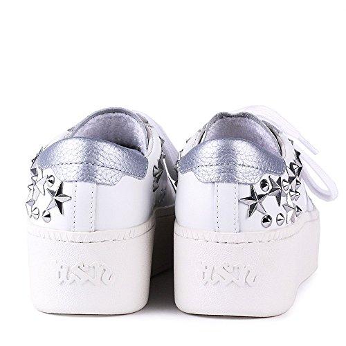 Ash Cyber Sneaker aus Leder, Damen Weib