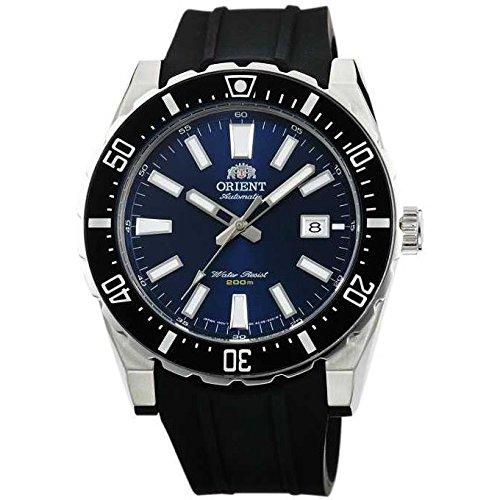 Orient orologio da polso uomo 45.5mm Bracciale Silicone Nero Automatico fac09004d0