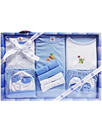 Mini Berry 13 Piece Unisex Baby's Gift Set (Blue)