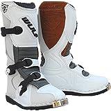 Wulf Cub LA Junior Motocross Boots 33 White (UK 1)