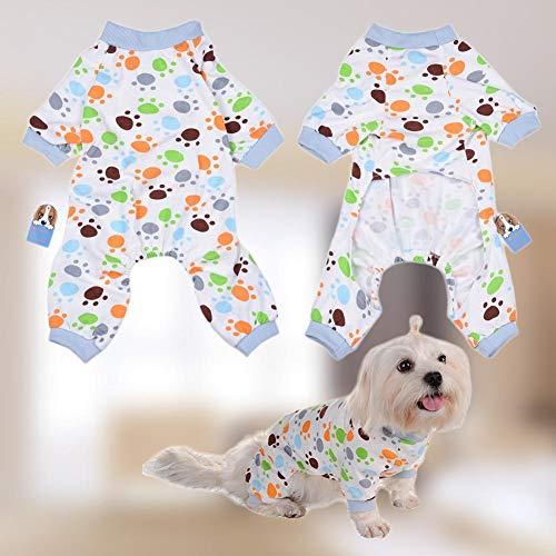 zaote Baumwollhaustier-entzückende Tatzen-Hundepyjamas awesome (Awesome Kostüm Für Hunde)