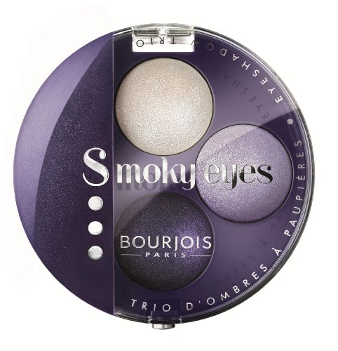 Bourjois Smoky Eyes Trio Eyeshadow No.06Violet Romantic