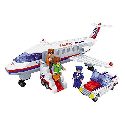 Ausini - Juego de construcción Avión & pasajeros - 252 piezas (ColorBaby 44349)