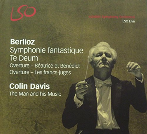 Berlioz: Symphonie Fantastique , Te Deum, Overtue (Beatrice et Beneddict, Llees Fraancs-Jugees) & DVD (the Man Behnd the Music) - 2 SACD & 1 DVD / Deluxe Limitedd Edition