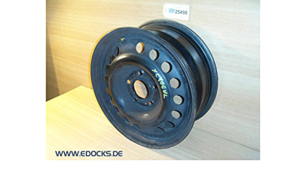 15 Zoll Stahlfelge Felge Rad 6j X 15 5 X 110 Lochkreis Corsa C Astra G Opel Auto