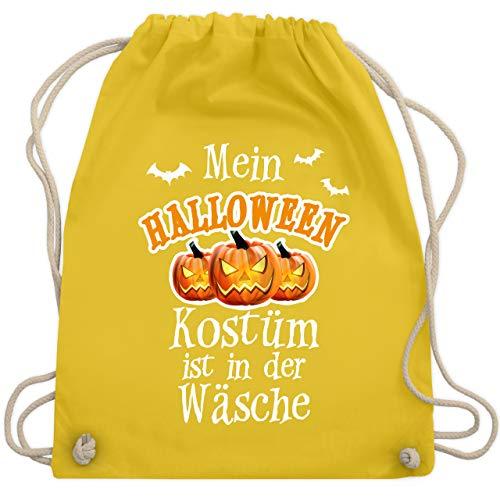 Halloween - Mein Halloween Kostüm ist in der Wäsche - Unisize - Gelb - WM110 - Turnbeutel & Gym Bag