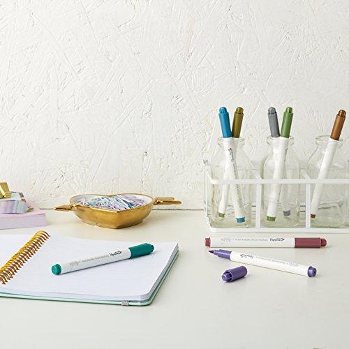 Docrafts Brush Marker Fluid Metallic, verschiedene Farben (8Stück) - 4