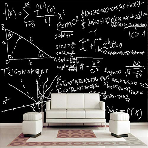 Incroyable Svsnm Photo Modern 3D Mural Wallpaper For Living Room Mathematical Formula  Creative Blackboard Chalk Printing For
