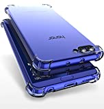 Bracevor Honor View 10/v10 Back Cover Case | Flexible Shockproof TPU | Cushioned Edges | Premium Design - Transparent