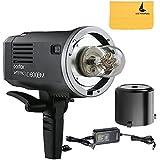 Godox AD600BM Flash Speedlite Manuel HSS Sync à Grande Vitesse 1/8000s 8700mAh Lithium Li-ion 2,4G Sans Fil pour DSLR Caméras Canon Nikon Sony etc