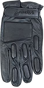 Viper Padded Leather Gloves Black