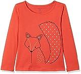 #10: GAP Baby Girls' Plain Regular Fit T-Shirt (85159829900_Red Fox_18-24M)