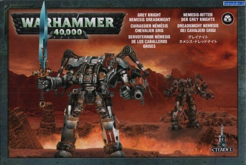 Warhammer 40,000: Grey Knight Nemesis Dreadknight by Warhammer Grey Knight