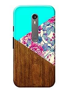 Moto G3 Cover KanvasCases Premium Designer 3D Printed Lightweight Hard Back Case