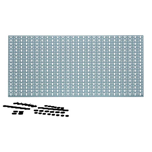 Parete di strumento 460x980mm metallo con 44 ganci - parete di strumento