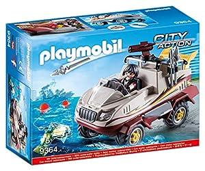 Playmobil- Coche Anfibio Juguete, (geobra Brandstätter 9364)