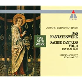 """Cantata No.38 Aus tiefer Not schrei ich zu dir BWV38 : VI Chorale - """"Ob bei uns ist der S�nden viel"""" [Choir]"""