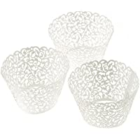 J * Myi Hollow cake Paper Cup Holder wedding cake Cup cake baking Cup