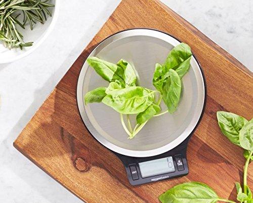 Zoom IMG-1 amazonbasics bilancia digitale da cucina
