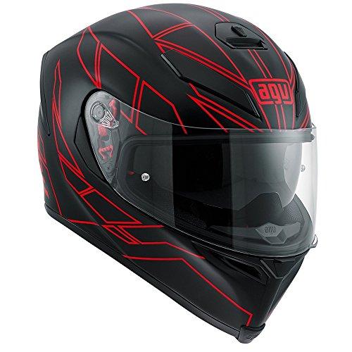 Preisvergleich Produktbild Motorradhelm AGV K5-S Held schwarz / rot