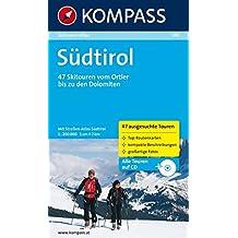 Südtirol: Skitouren-Atlas mit Straßenatlas Südtirol 1:200000
