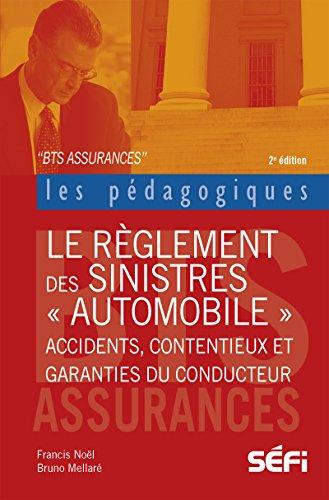 Le règlement des sinistres automobiles: Accidents, contentieux et garanties du conducteur (Les pédagogiques)