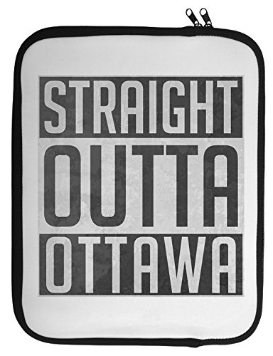 Straight Outta Ottawa Laptop Case 13