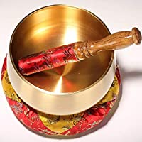 Sunferkyh Cuenco De Canto La meditación Estilo japonés de Sonido Juego de Tazones Tazones Canto Yoga Espiritual Oración Regalo for la Atención Chakra Adecuado para Entrenamiento De Yoga