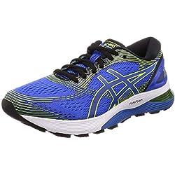 Asics Gel-Nimbus 21, Zapatillas de Running para Hombre, Azul (Illusion Blue/Black 400), 44 EU