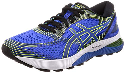 ASICS Gel-Nimbus 21, Scarpe da Running Uomo, Blu (Illusion Blue/Black 400), 43.5 EU