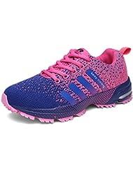 online retailer 4d773 6cab2 Kuako Chaussures de Course Basket Compétition Running Sport Trail  Entraînement Multisports Homme Femme