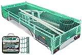 Anhängernetz Dehnbar Elastisch Gepäcknetz für PKW Anhänger 3,5 X 1,8 Meter