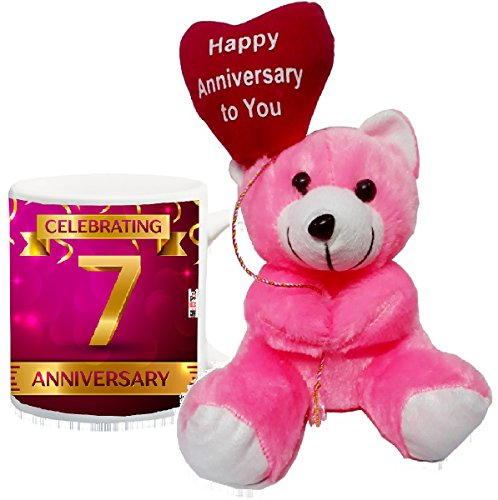 ME&You Gift for 7th Anniversary, 7th Anniversary Gifts for Father, Mother, Husband, Wife, Brother, Sister Printed IZ18SRTM-3444