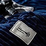 LUOLUO Set Bettlaken SAMT, Bettwäsche-Sets Winter Doppelbett Bettwäsche SAMT Bettbezug Set Flanell Weiches und warmes Bettlaken Komplett Mit Quilt Double Two Sheaths(155x220cm) Test