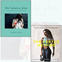 the balance plan[Hardcover],the vertue method 2 books collection set - six steps to optimize your hormonal health,a stronger, fitter, healthier you – in 28 days