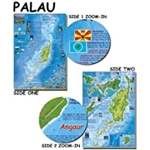 Palau Map for Scuba Divers and Snorkelers