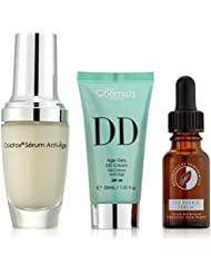 skin Chemists Perfect Anti-Aging Finish Touch - light: Coldtox Serum, Botanicals Eye Repairing and Age Defying DD Cream, 80 ml