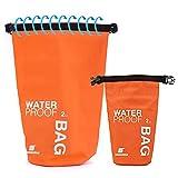 Kuke Floating Schwimmen Wasserdicht Dry Bag Running cyclinking Camping Wandern Strand Wassersport Kajak, Rafting, Angeln, grün, 2L Vergleich