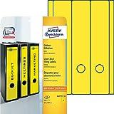 Avery Zweckform L4755-20 Ordner-Etiketten 20 Blatt gelb
