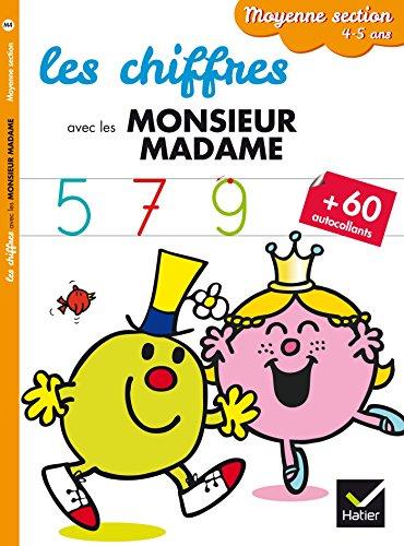 Les chiffres - Moyenne section par Marie-Françoise Mornet