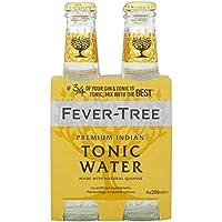 Fever-Tree Premium Indian Agua Tónica - Paquete de 4 x 200 ml (Pack of 6, Total 24)