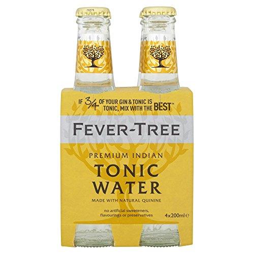 fever tree mediterranean tonic Fever Tree Indian Tonic Water 200ml Sparpaket (24 x 0.2l)